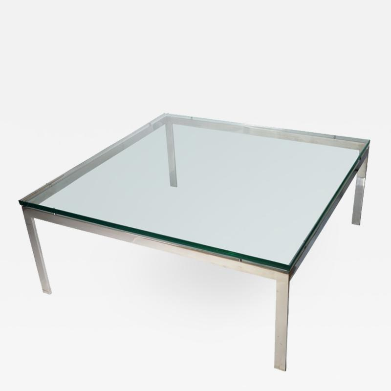 John Vesey Square Coffee Table by John Vesey