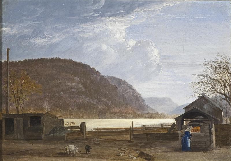 John William Hill The Oven Ramapo Mountain