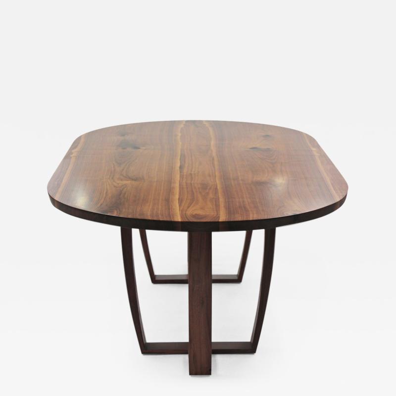 Jonathan Field American black walnut table for P L