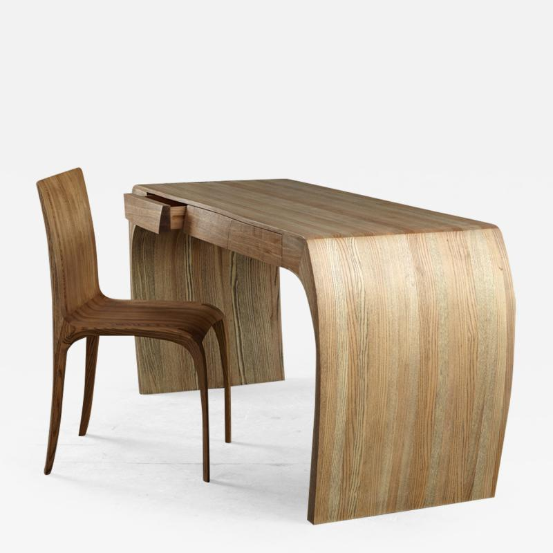 Jonathan Field Ash desk with white oil finish Design Number 4