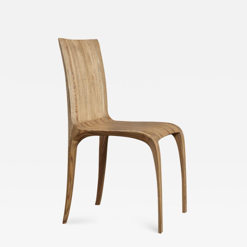 Jonathan Field Dining Chair in Rippled Ash