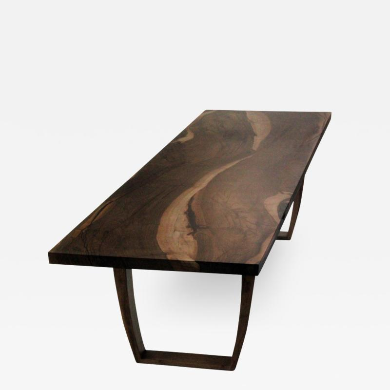 Jonathan Field English walnut table for Design Shanghai