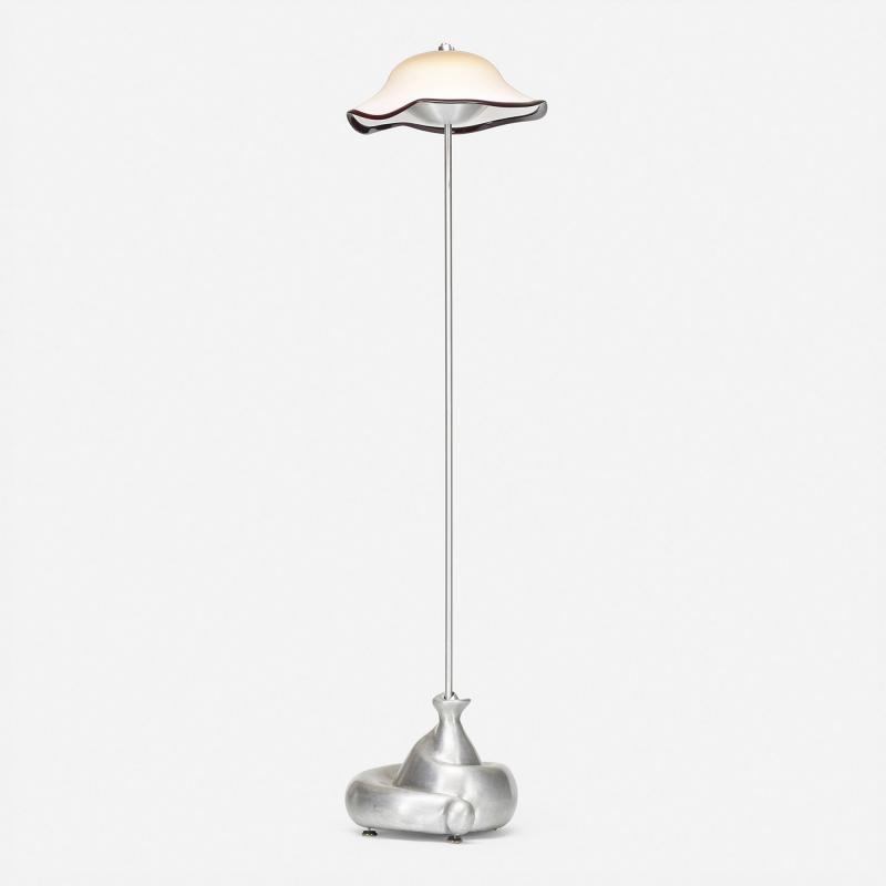 Jordan Mozer Jordan Mozer Fiddlehead floor lamp from the D Alba Residence Glencoe