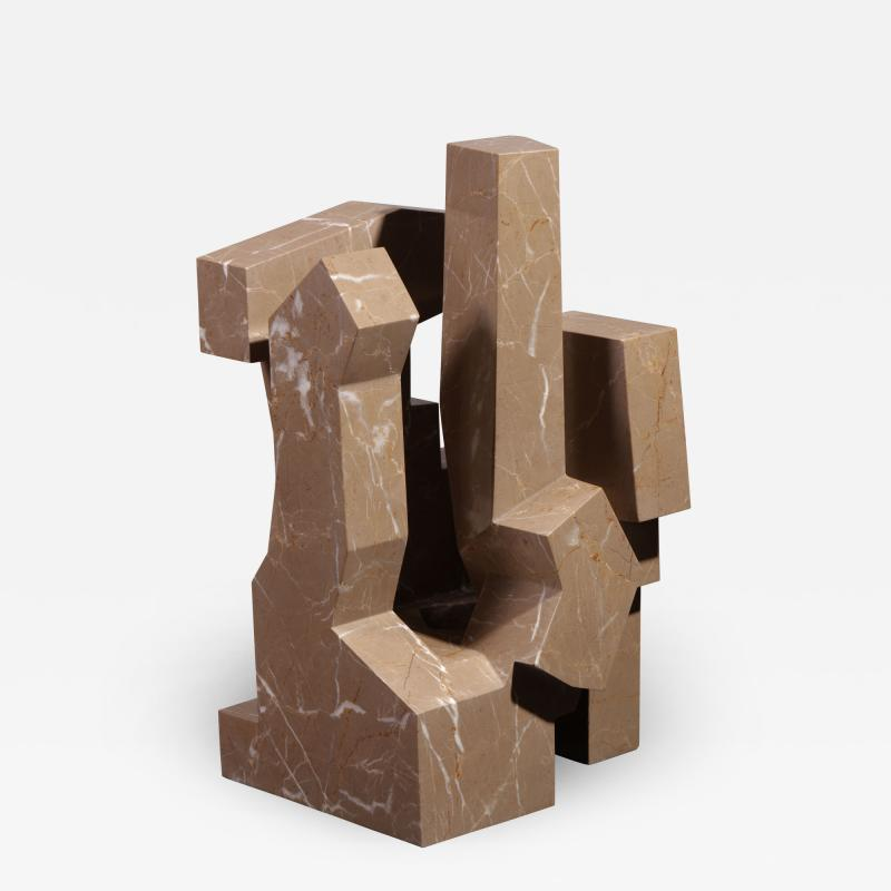 Jorge Y zpik Untitled Marble sculpture