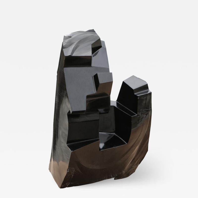Jorge Y zpik Untitled sculpture Obsidian I