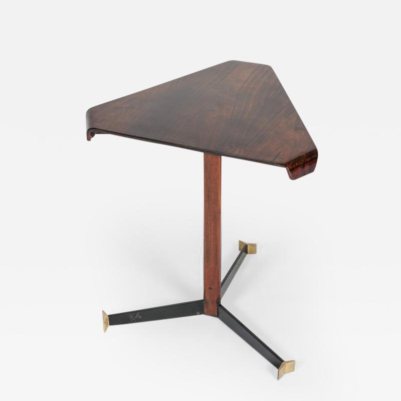 Jorge Zalszupin Brazilian Jorge Zalszupin triangular table rosewood 50s