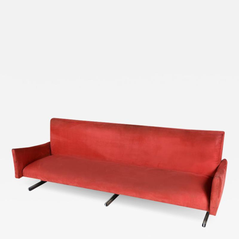 Jorge Zalszupin Mid Century Modern Sofa by Brazilian designer Jorge Zalszupin 1960s