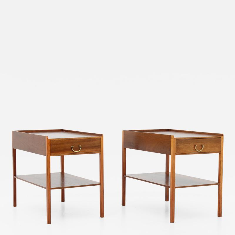 Josef Frank Scandinavian Midcentury Bedside Tables by Josef Frank for Svenskt Tenn