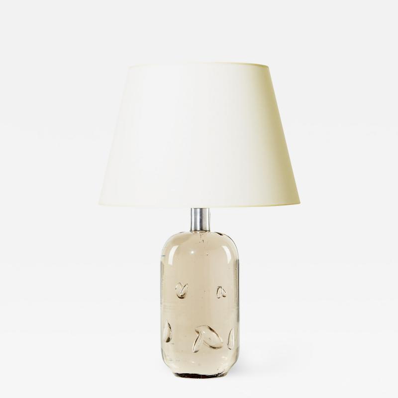 Josef Frank Swedish Modernist Artisanal Glass Table Lamp