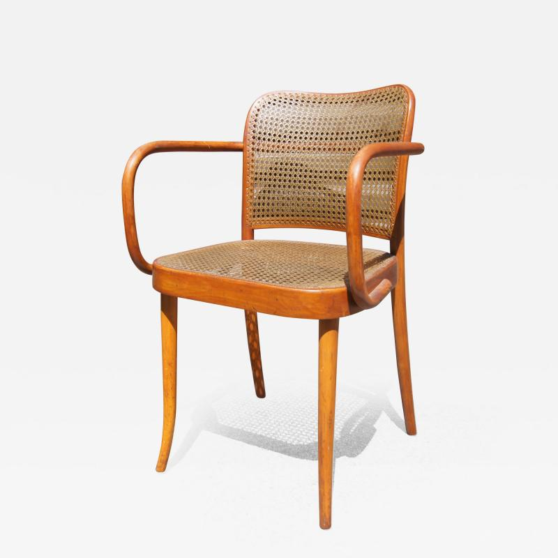 Josef Hoffmann Vintage Bentwood Armchair by Joseph Hoffmann for Stendig