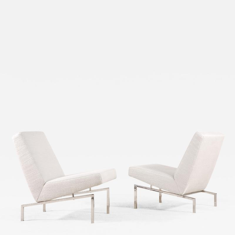 Joseph Andre Motte Joseph Andr Motte Pair of Tempo Low Chairs for Steiner France 1960s
