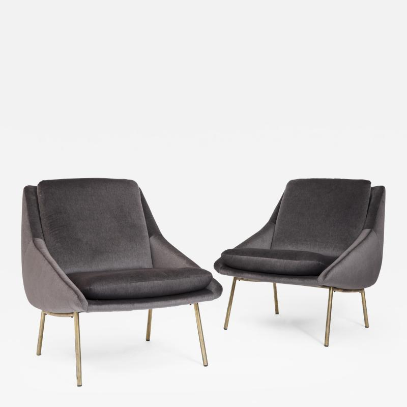 Joseph Andre Motte Pair of Armchairs