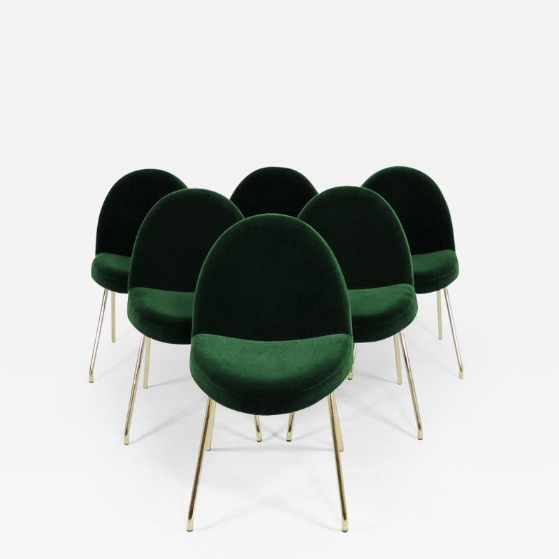 Joseph Andre Motte Set of 6 dining chairs