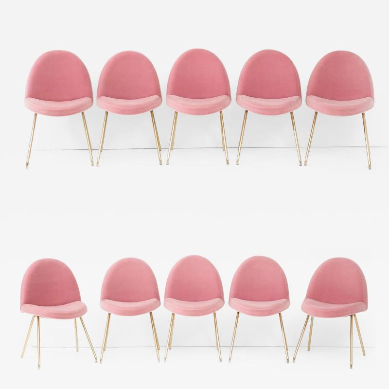 Joseph Andre Motte Set of ten dining chairs