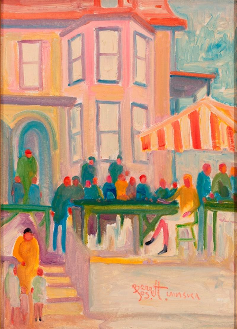Joseph Barrett Morning at the Market Lasaska