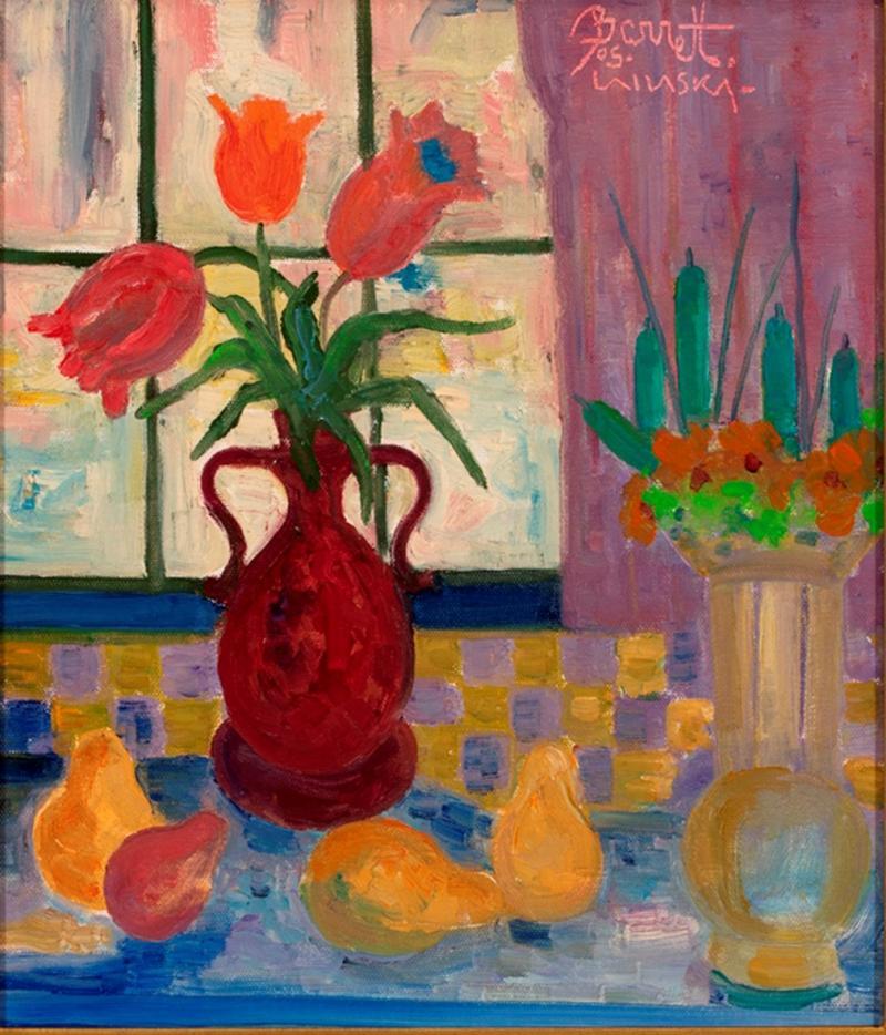 Joseph Barrett Two Bouquets