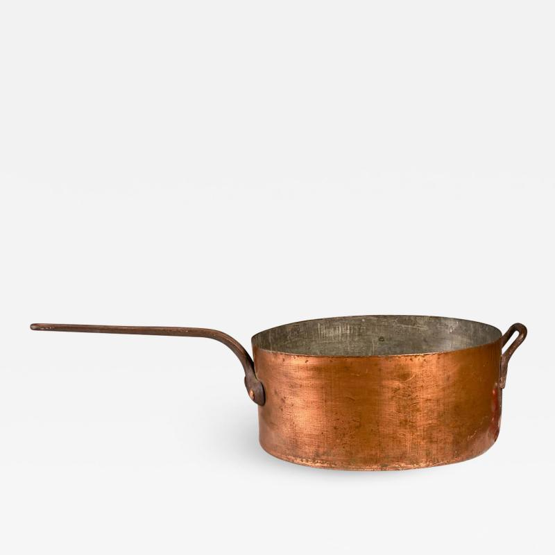 Joseph Heinrichs MASSIVE COPPER PAN EARLY 20TH CENTURY