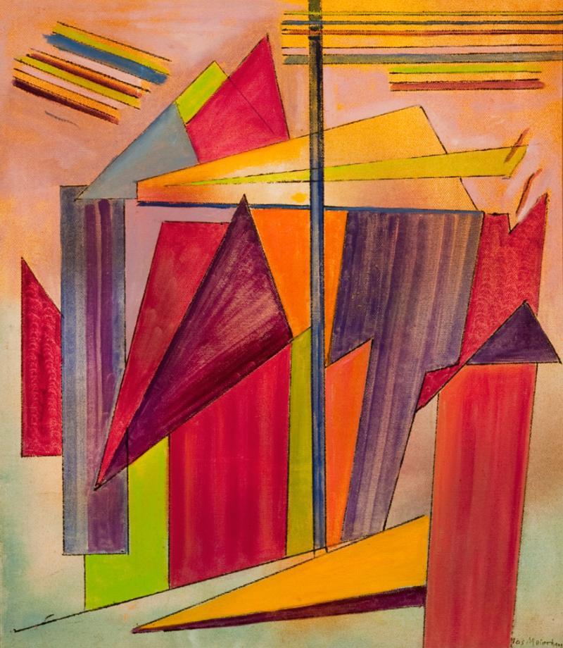 Joseph Meierhans Geometric Rainbow