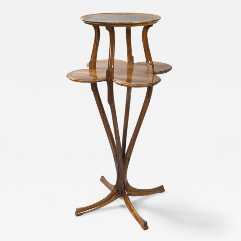Joseph Paul Anthony Selmersheim French Art Nouveau Pedestal