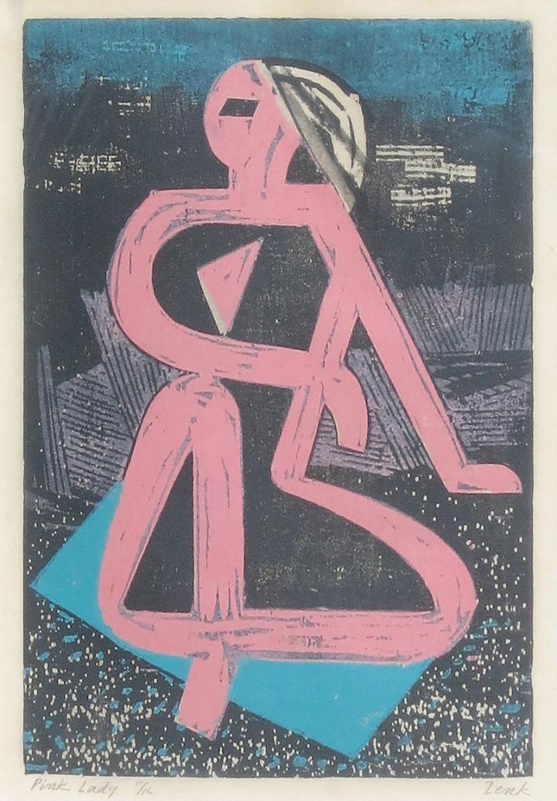 Joseph Zenk Pink Lady