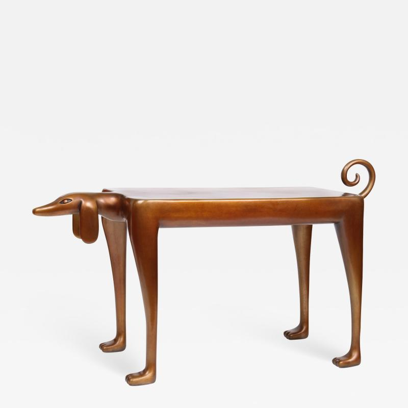 Judy Kensley McKie Beagle Side Table