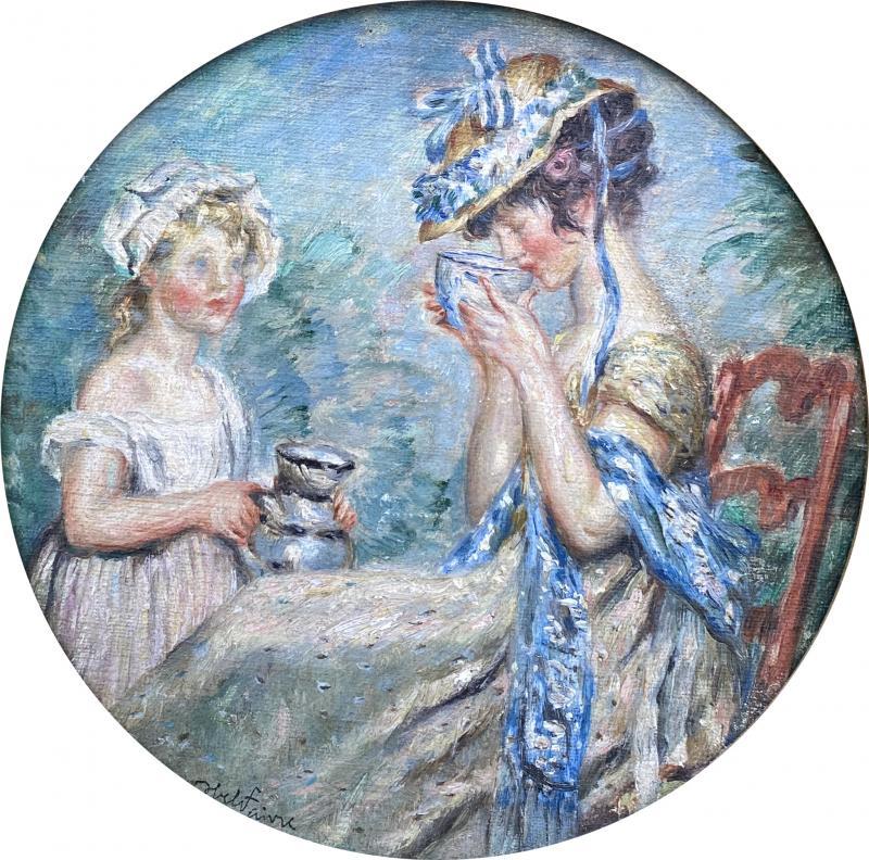 Jules Abel Faivre Afternoon Tea