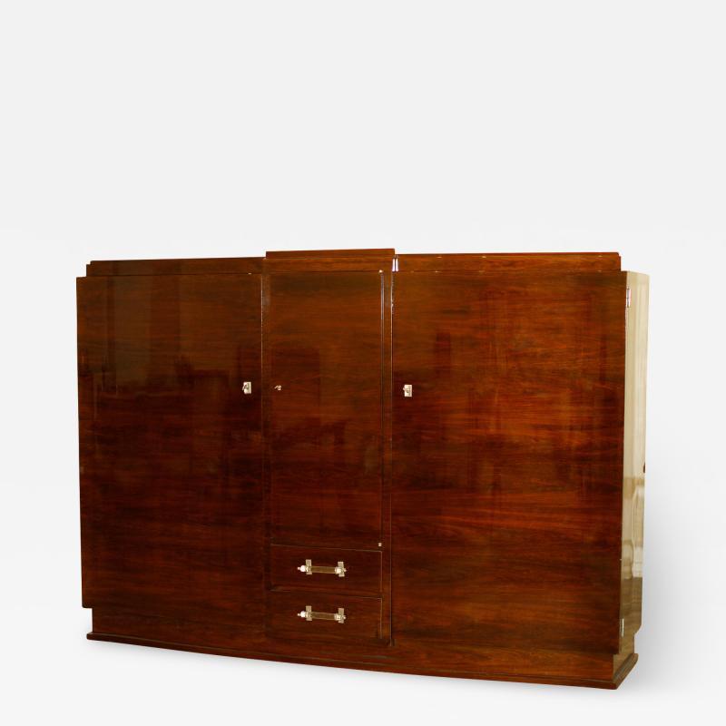 Jules Leleu Jules Leleu Art Deco Cabinet 1930