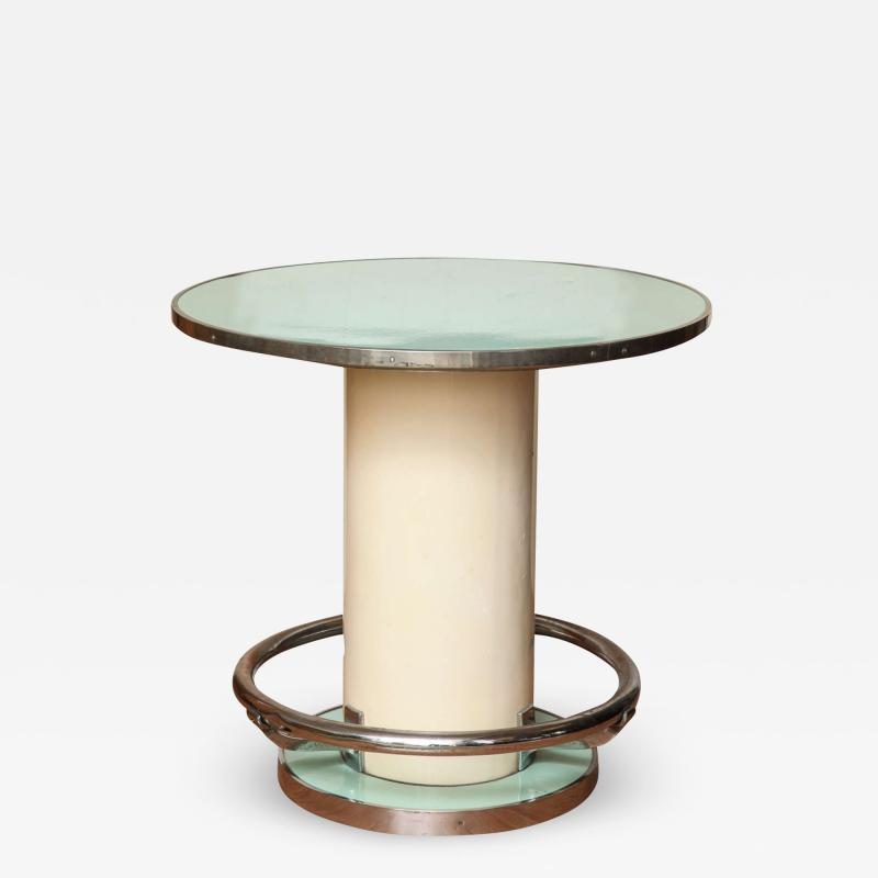 Jules Leleu Maison Leleu Modernist Round Table