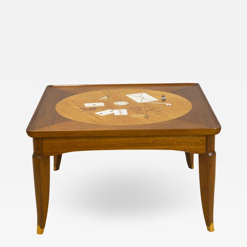 Jules Leleu Tribute to Foujita coffee table