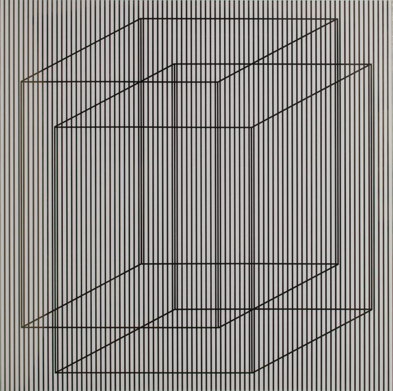 Julian Stanczak Superimposed in Light