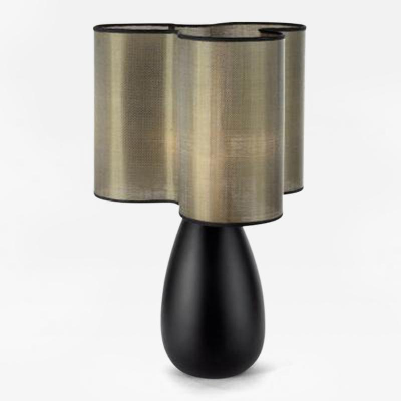 Julien Barrault The Clover Table Lamp in Wood by Julien Barrault
