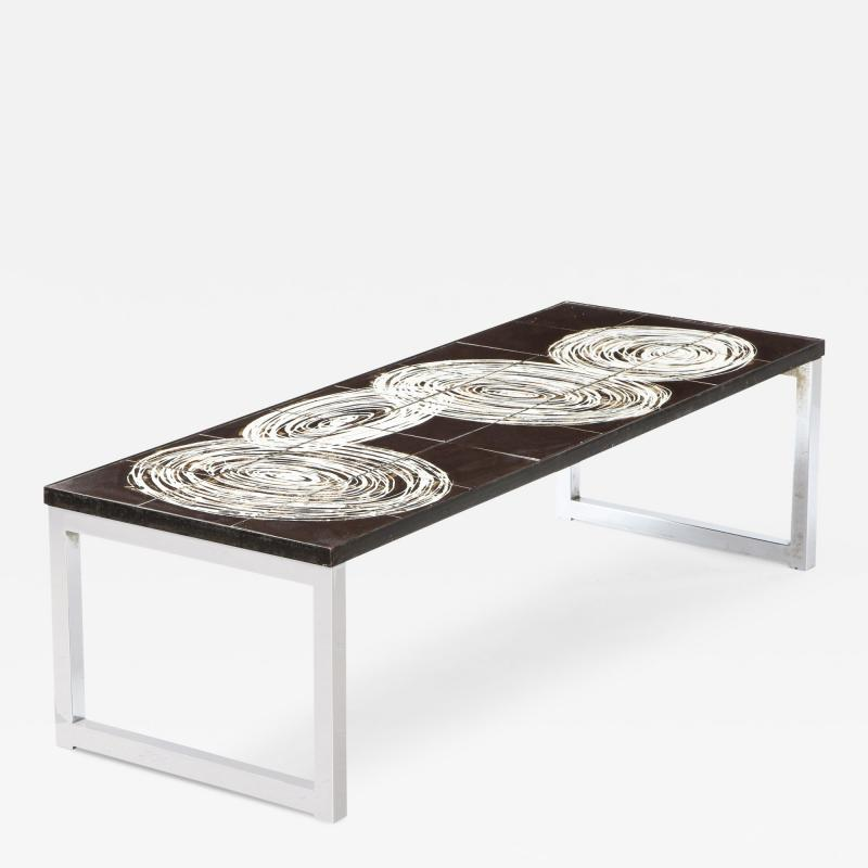 Juliette Belarti CERAMIC TILE TOP TABLE
