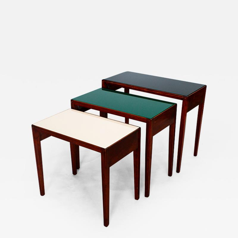Julius Rindler A Set of Three Nesting Tables