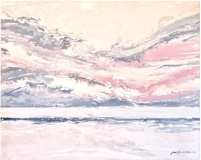 June Hendrickson June Hendrickson Oil Painting USA