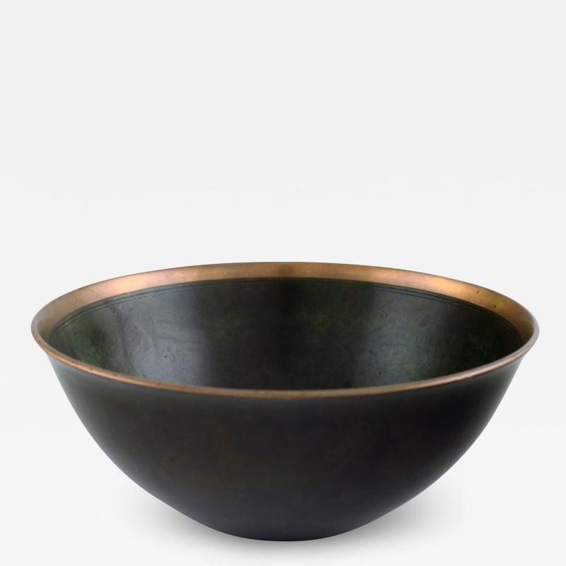 Just Andersen Art deco bronze bowl
