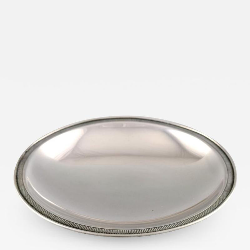 Just Andersen Rare dish of sterling silver