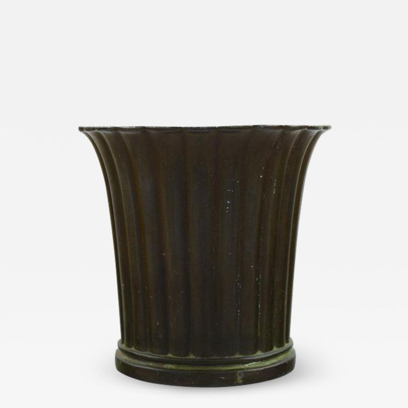 Just Andersen Vase in disko metal Model Number 2353