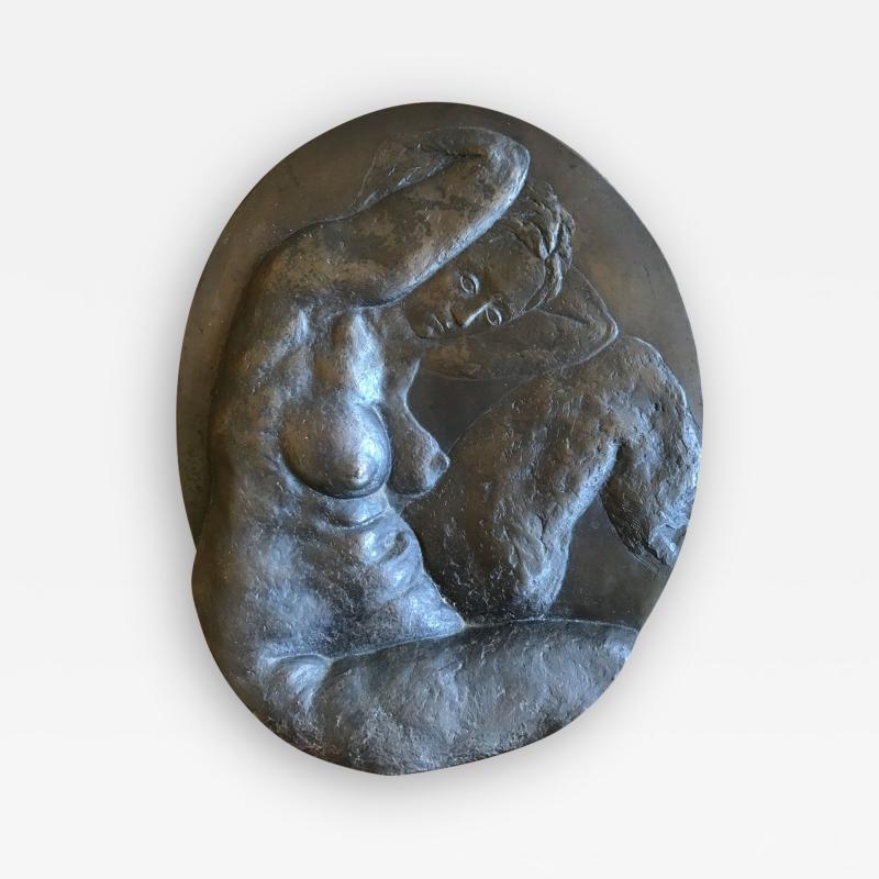 Kahlil George Gibran Bronze Nude by Kahlil Gibran