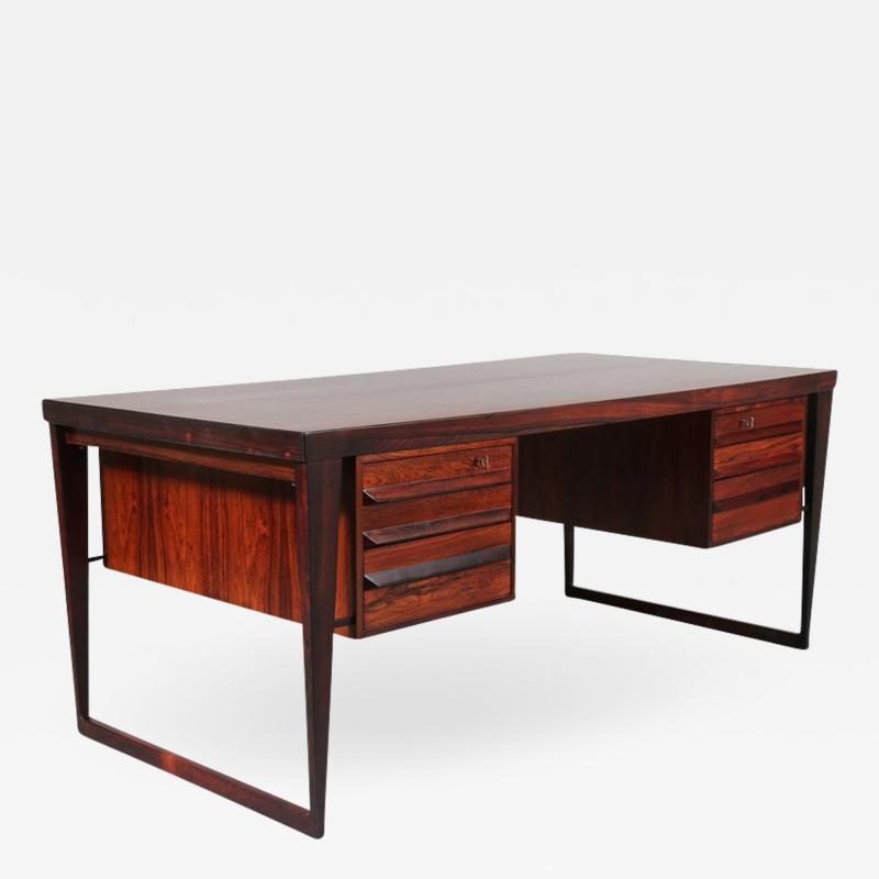 Kai Kristiansen Model 70 Desk by Kai Kristiansen for Feldballes M belfabrik Denmark 1950