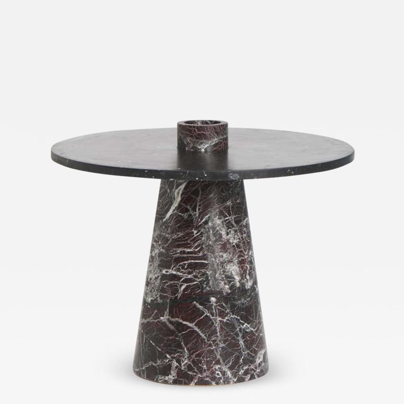 Karen Chekerdjian RED INSIDE OUT TABLE SET BY KAREN CHEKERDJIAN