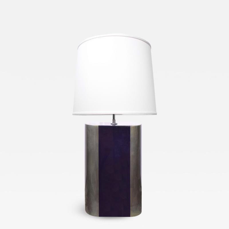 Karl Springer Karl Springer Chic Artisan Table Lamp 1970s