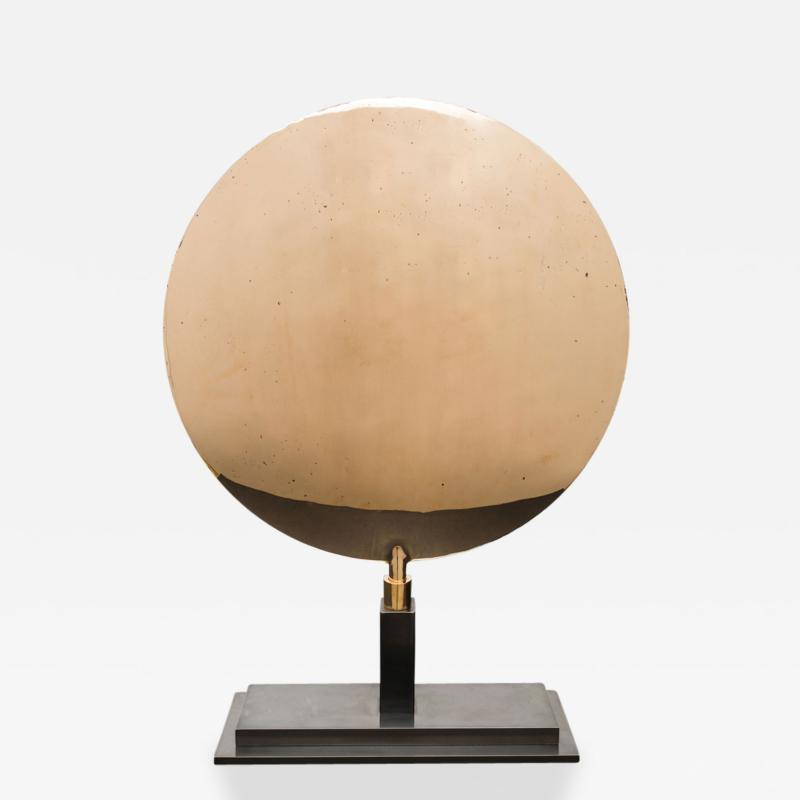 Karl Springer Karl Springer LTD Bronze Sonnenteller Sun Plate USA 1980