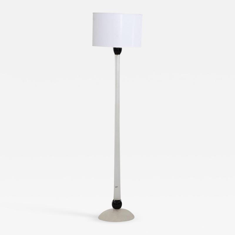 Karl Springer Karl Springer Scavo Glass Floor Lamp Seguso 1980