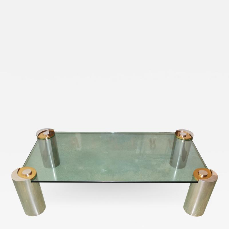 Karl Springer Sculpture Leg Coffee Table by Karl Springer