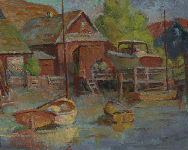 Katharine Hood McCormick A Sheltered Harbor