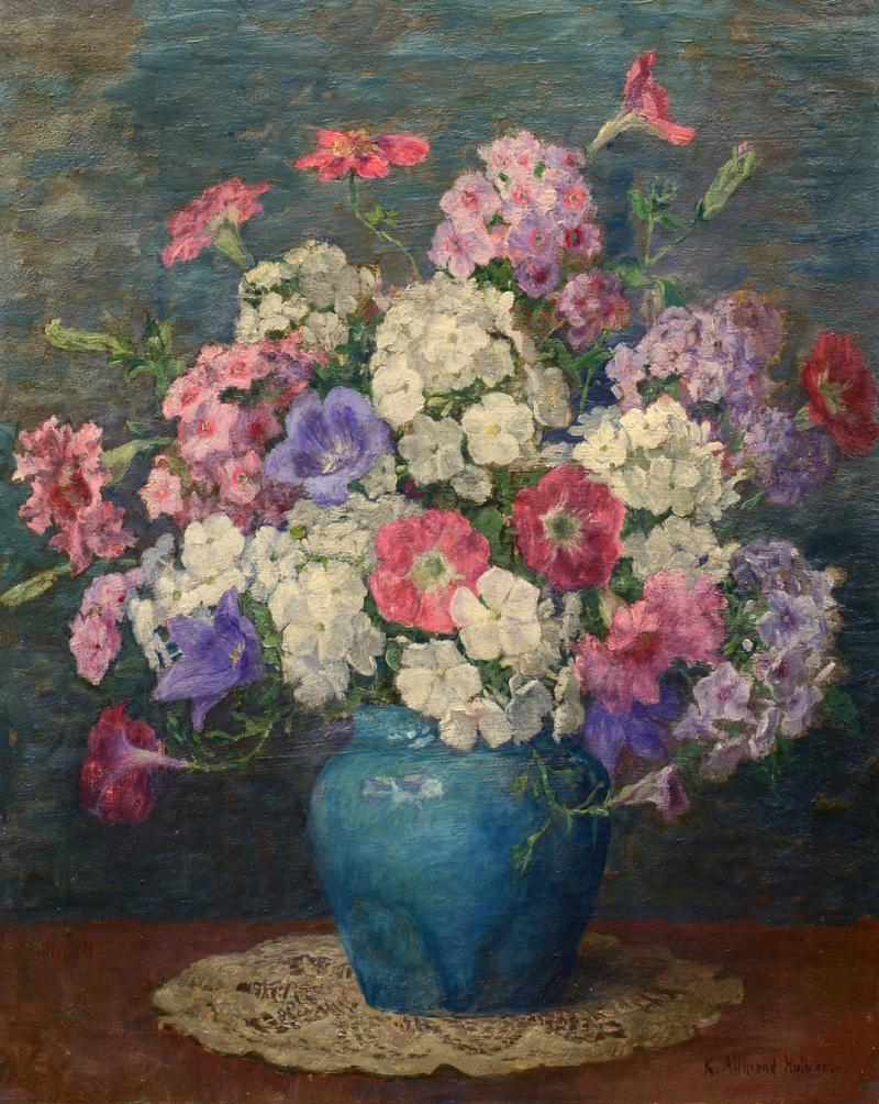 Katherine Allmond Mrs Charles A Hulbert Summer Bouquet