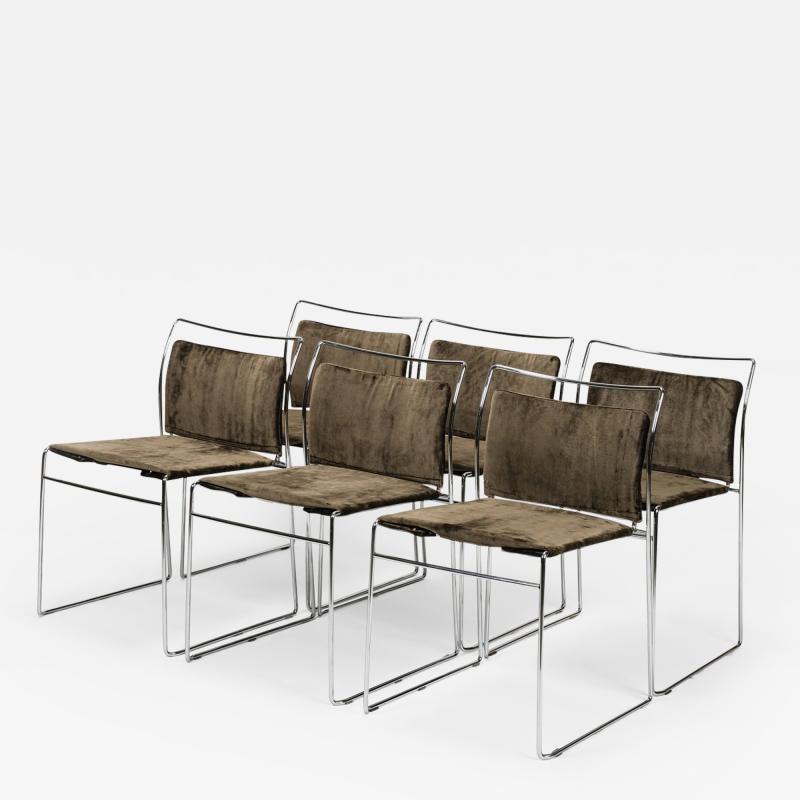 Kazuhide Takahama Kazuhide Takahama Set of 6 chairs model Tulu 1969 Italy