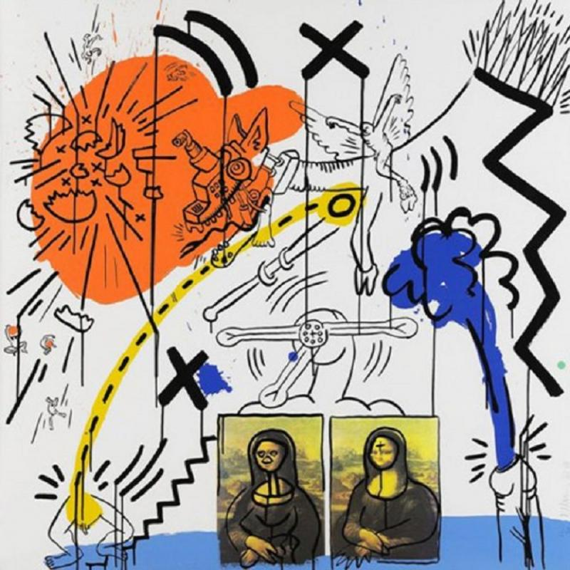 Keith Haring APOCALYPSE II KEITH HARING