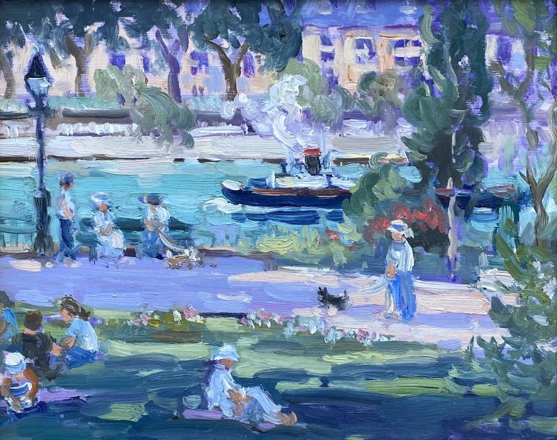 Keith Oehmig Square du Vert Galant Paris