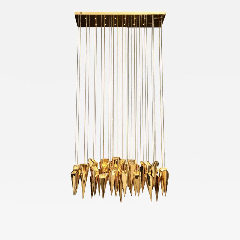 Kelly Kiefer The Audacia Chandelier by Kelly Kiefer